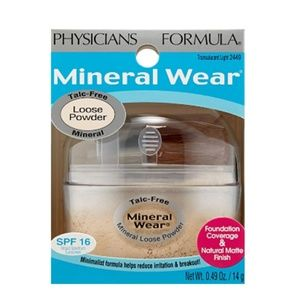 NIB Physicians Formula Mineral Wear Loose Powder